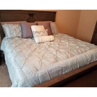 Madison Park Lafayette Seafoam 7-piece Comforter Set