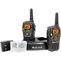 22-Channel Camo Gmrs Radio Pair Value Pack With Drop-In Charger an