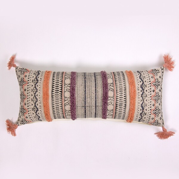 Tege Extra Long Bolster Pillow. Opens flyout.