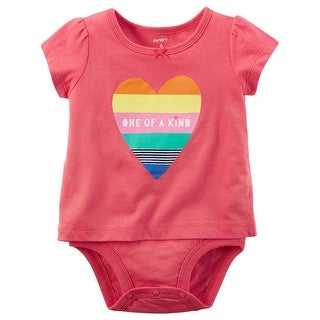 Carter's Baby Girls' Heart Double-Decker Bodysuit