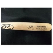Signed McGwire Mark Rawlings Big Stick Bat autographed
