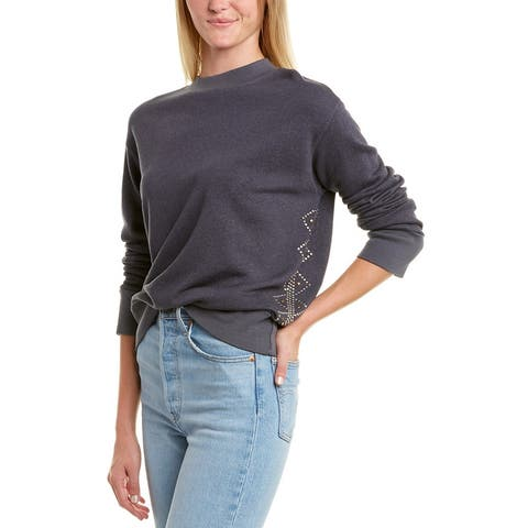 Monrow Stud Motif Sweatshirt