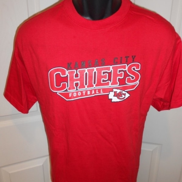84a33187 Kansas City Chiefs NFL Youth Medium M 10-12 Red Shirt