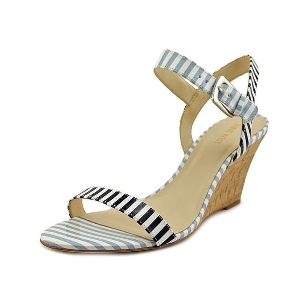 Nine West Kiani   Open Toe Synthetic  Wedge Heel