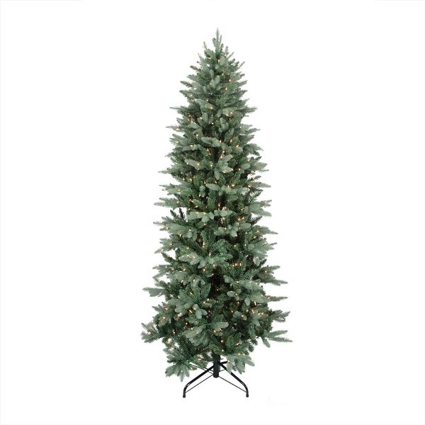 6.5' Pre-Lit Washington Frasier Fir Slim Artificial Christmas Tree - Clear Lights