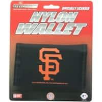 San Francisco Giants Nylon Trifold Wallet