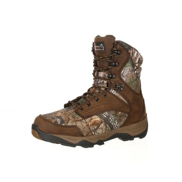 "Rocky Outdoor Boots Mens 9"" Retraction Waterproof Realtree"