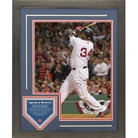 David Ortiz Legendary Moments 11x14 Framed Collage