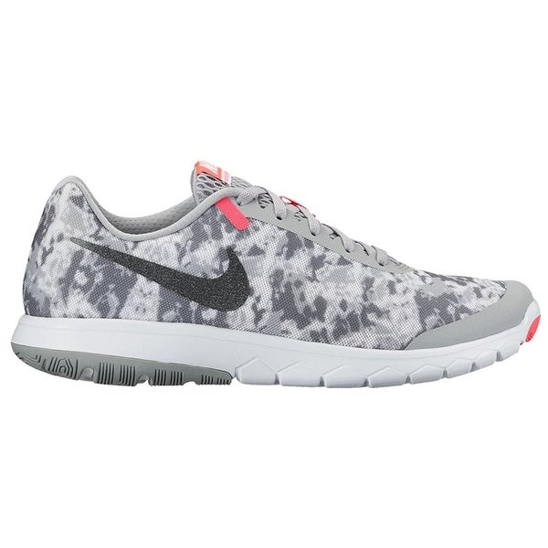751a1e11f6a6 Shop Nike Flex Experience RN 6 Premium Wolf Grey Metallic Hematite Racer  Pink Women s Running Shoes - Free Shipping Today - Overstock - 18278819
