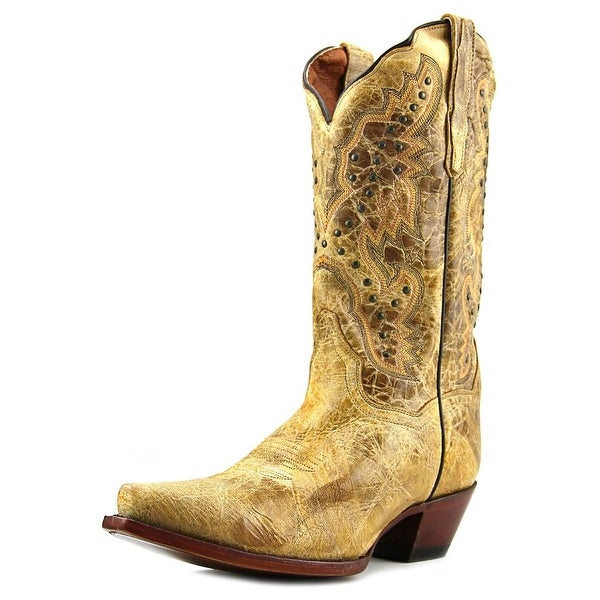 Dan Post Kiki Square Toe Leather Western Boot