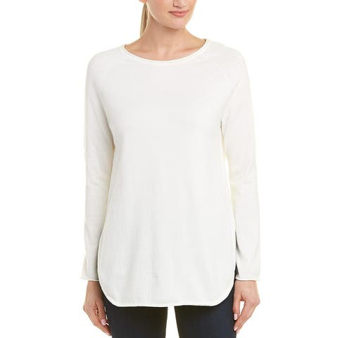 In Cashmere Boat Neck Pullover