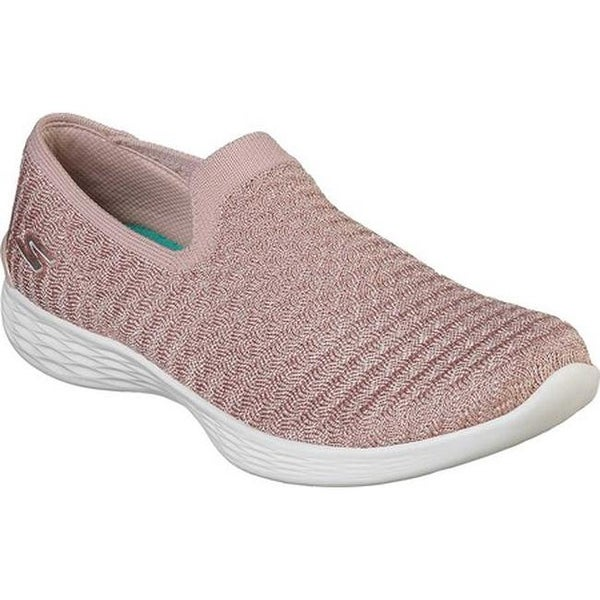 Turnschuhe | YOU Define Slip On Trainers Mauve Skechers