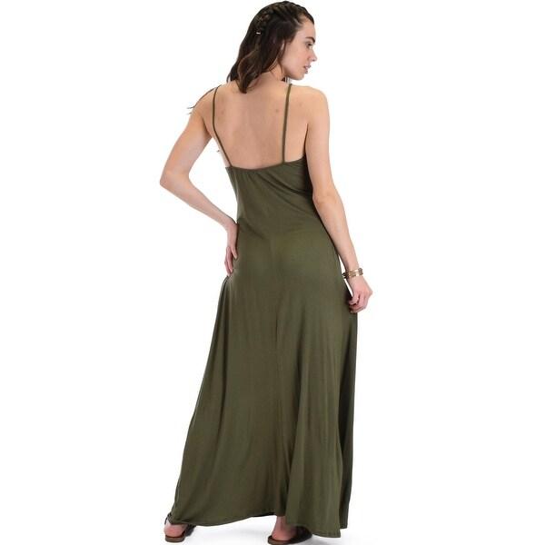 afe2ed0915c33 wanderlust sweetheart olive shift maxi dress-Olive-Small