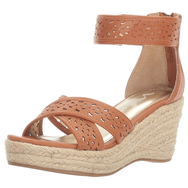Nina Womens Chicory Open Toe Casual Espadrille Sandals