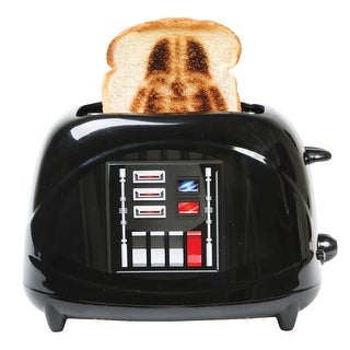 Star Wars Branding Toaster - Empire Collection Darth Vader Character Chest Plate - 10 in. x 6 in. x 7 in.