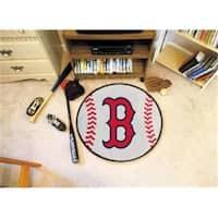 FanMats Boston Red Sox Baseball Mat F0006332