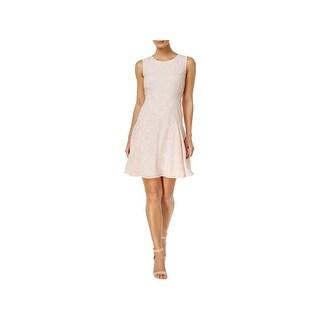 Tommy Hilfiger Womens Wear to Work Dress Pattern Drop Waist