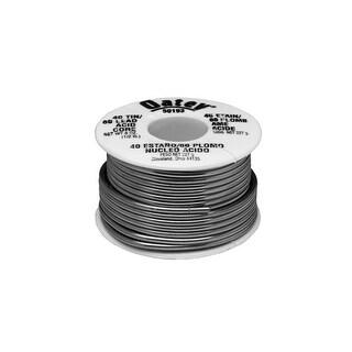 Oatey 50193 40/60 Acid Core Wire Solder, 1/2 lbs