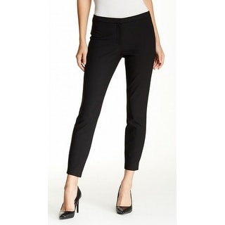 Elizabeth and James NEW Black Womens Size 8 Ankle Tapered Dress Pants