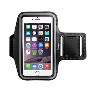 Insten Universal Sports Workout Gym Armband with Key Holder and Reflective Strip for iPhone 7/ 6s/ 6/ Samsung S3/ S4 (4 options available)