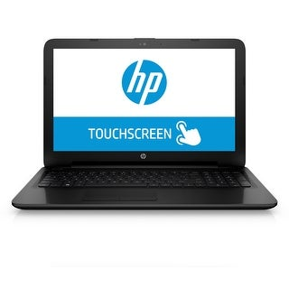 "HP 15-F278NR 15.6"" Touch Laptop Intel Core i3-4005U 1.7GHz 6GB 1TB Windows 10"