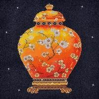 "Red Vase - Diamond Dotz Diamond Embroidery Facet Art Kit 23.5""X23.5"""