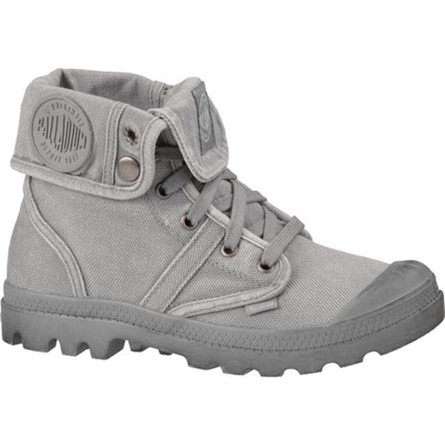 c117ddd2749d Shop Palladium Women's Pallabrouse Baggy Burnished Titanium/Hi-Rise - Free  Shipping Today - Overstock - 19981553