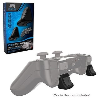 Gioteck Dual L / R Non-Slip Real Triggers For Sony PlayStation 3 PS3 Controller