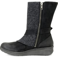 Born Womens Kore Closed Toe Mid-Calf Cold Weather Boots - 8.5