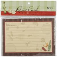MBI 5x7 Inch Additional Recipe Cards (25pk), Family (899855)