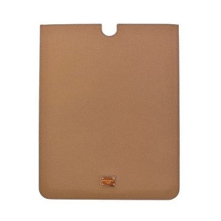 Dolce & Gabbana Dolce & Gabbana Beige Leather iPAD Tablet eBook Cover