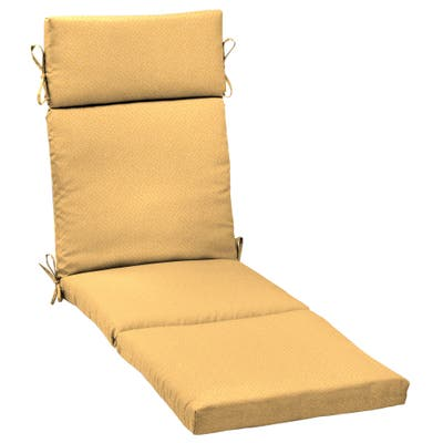 Arden Selections Shirt Texture Outdoor Cartridge Chaise Cushion - 72 in L x 21 in W x 3 in H