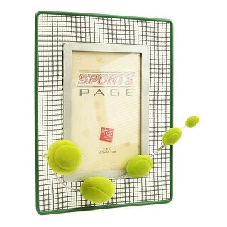 Sports Page Novelty Tennis Picture Frame
