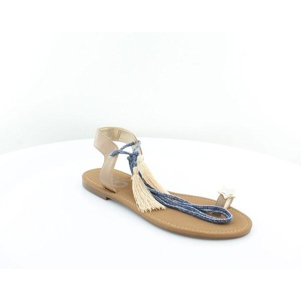 Circus by Sam Edelman Binx Women's Sandals & Flip Flops Golden Caramel - 7.5