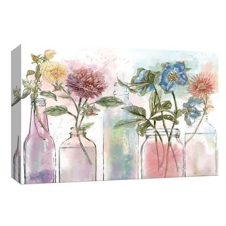 "PTM Images 9-148269  PTM Canvas Collection 8"" x 10"" - ""Vintage Bottle Collection"" Giclee Flowers Art Print on Canvas"