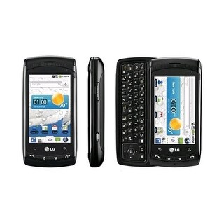 LG Ally VS740 Replica Dummy Phone / Toy Phone (Black) (Bulk Packaging)