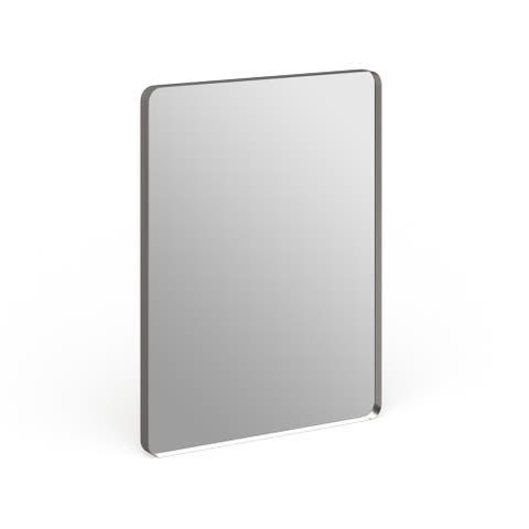Steele Silvertone Wall Mirror - 30 x 40