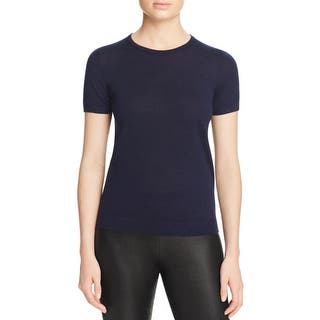 Theory Womens Petites Casual Top Merino Wool Ribbed Trim|https://ak1.ostkcdn.com/images/products/is/images/direct/8133be8b76e4af67c00da9287167f63a4ddea0da/Theory-Womens-Petites-Casual-Top-Merino-Wool-Ribbed-Trim.jpg?impolicy=medium