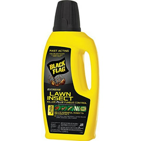 Black Flag HG-11118 Extreme Lawn Insect Killer/Fungus Control, Concentrate,32 Oz