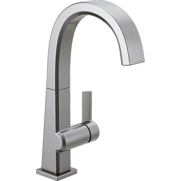 Shop Delta 1993lf Pivotal 1 5 Gpm Single Hole Bar Faucet