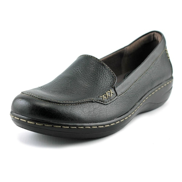 Montana Northway  Women  Round Toe Leather Black Loafer