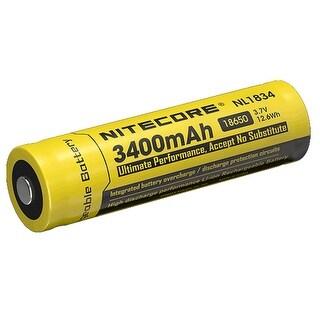 NITECORE NL1834 3400mAh Rechargeable 18650 Li-ion Battery