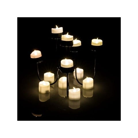 AGPtek Flickering Lot 6 PCS LED Flameless Battery Operated Tea light Candles with Batteries