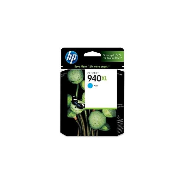 HP 940XL High Yield Cyan Original Ink Cartridge (C4907AN) (Single Pack)