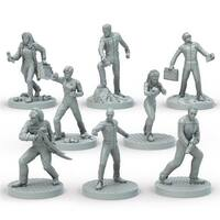 Star Trek Miniatures Adventure - TNG Set Action Figures