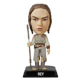 """Star Wars The Force Awakens Wacky Wobbler 7"""" Bobble Head Rey"""