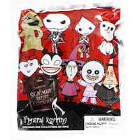 Nightmare Before Christmas Blind Bagged 3D Foam Figural Keychain - Multi