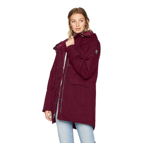 Columbia Women's Standard Boundary Bay Jacket, Rich Wine, Small