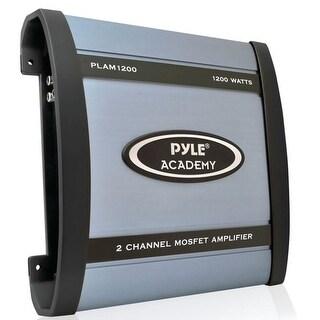 Pyle 1200 Watt 2 Channel Bridgeable Amplifier