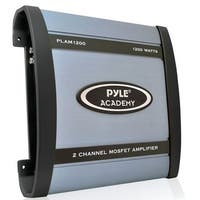 Pyle 1200 Watt 2 Channel Bridgeable Amplifier